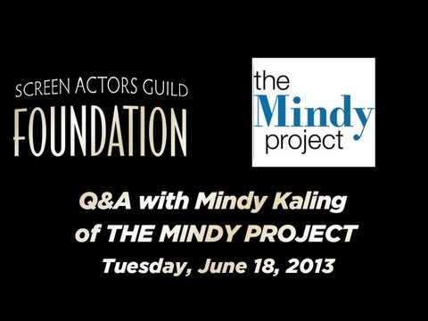 Conversations with Mindy Kaling of THE MINDY PROJECT