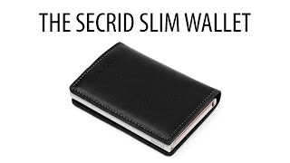 The Secrid Slim Wallet - Unboxing and Review - HD