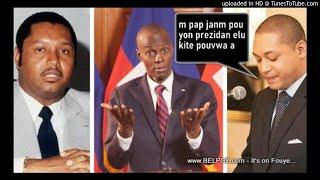 Ti Nicolas Duvalier di li pap janm dako pou yon prezidan elu kite pouvwa a konsa, Li pa vle Jovenel ale