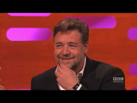 RUSSELL CROWE Had Only 1 Front Tooth - The Graham Norton Show on BBC America