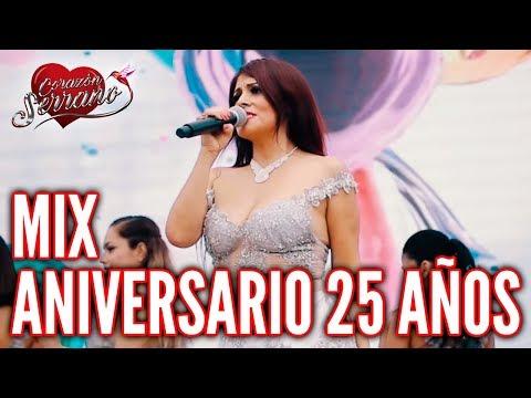 Corazón Serrano - Mix Aniversario 25 Años | En Vivo en Piura