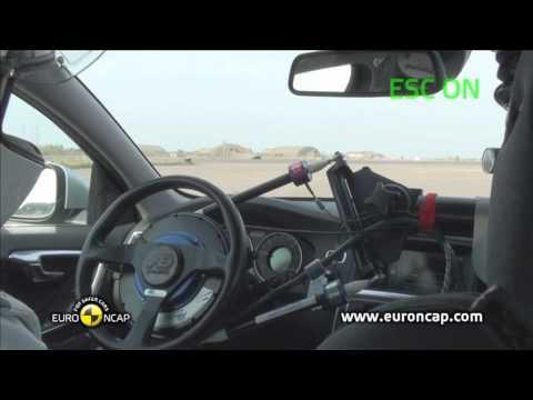 Euro NCAP | Volvo V60 | 2011 | Электронный контроль устойчивости