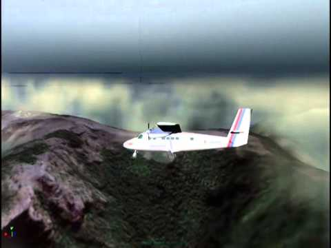 Air Crash In Nepal Airlines 9NABB (CRASH SITE Twinottor Crash in Arghakhanchi Nepal) (3d Animation)