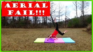 Aerial Tutorial FAIL! | Featuring Stray Dog