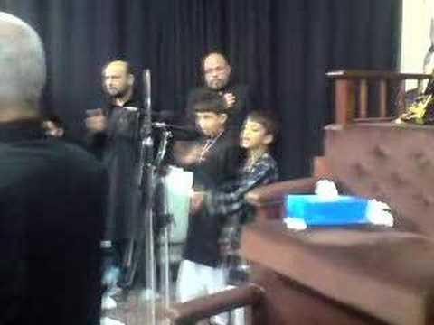 Abbas&ammar Zaidi- (mujhpe Kyu Band Karte Ho Pani) video