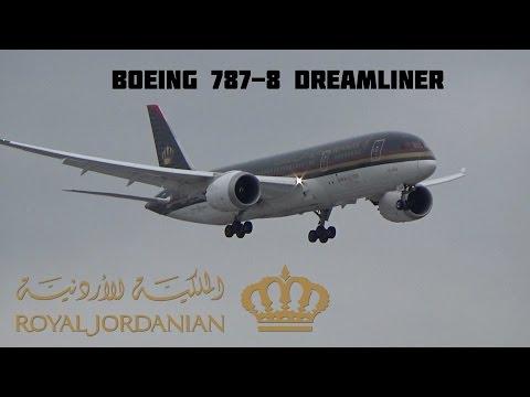 RARE: Royal Jordanian Boeing 787-8 Dreamliner (3rd) @ Toronto Pearson Int'l December 30, 2015
