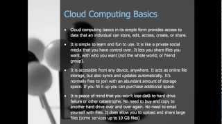 Cloud Computing Basics - A Non-Technical Explanation of cloud computing basics in Plain English