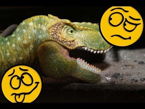 НЕОБЫКНОВЕННЫЕ СНЫ И ТИ-РЕКС В ВОСТОРГЕ! Мультики про динозавров для детей, на русском. Игрушки