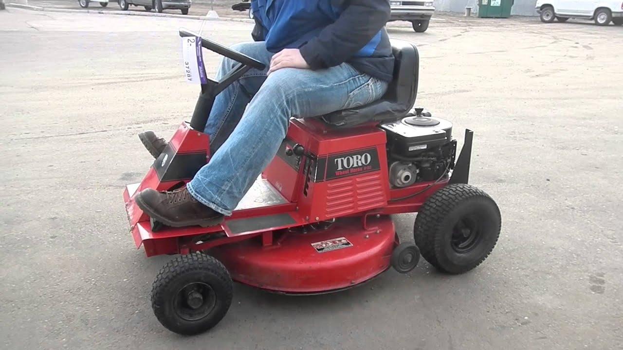 Toro Wheel Horse 8 32 Riding Lawn Mower Youtube