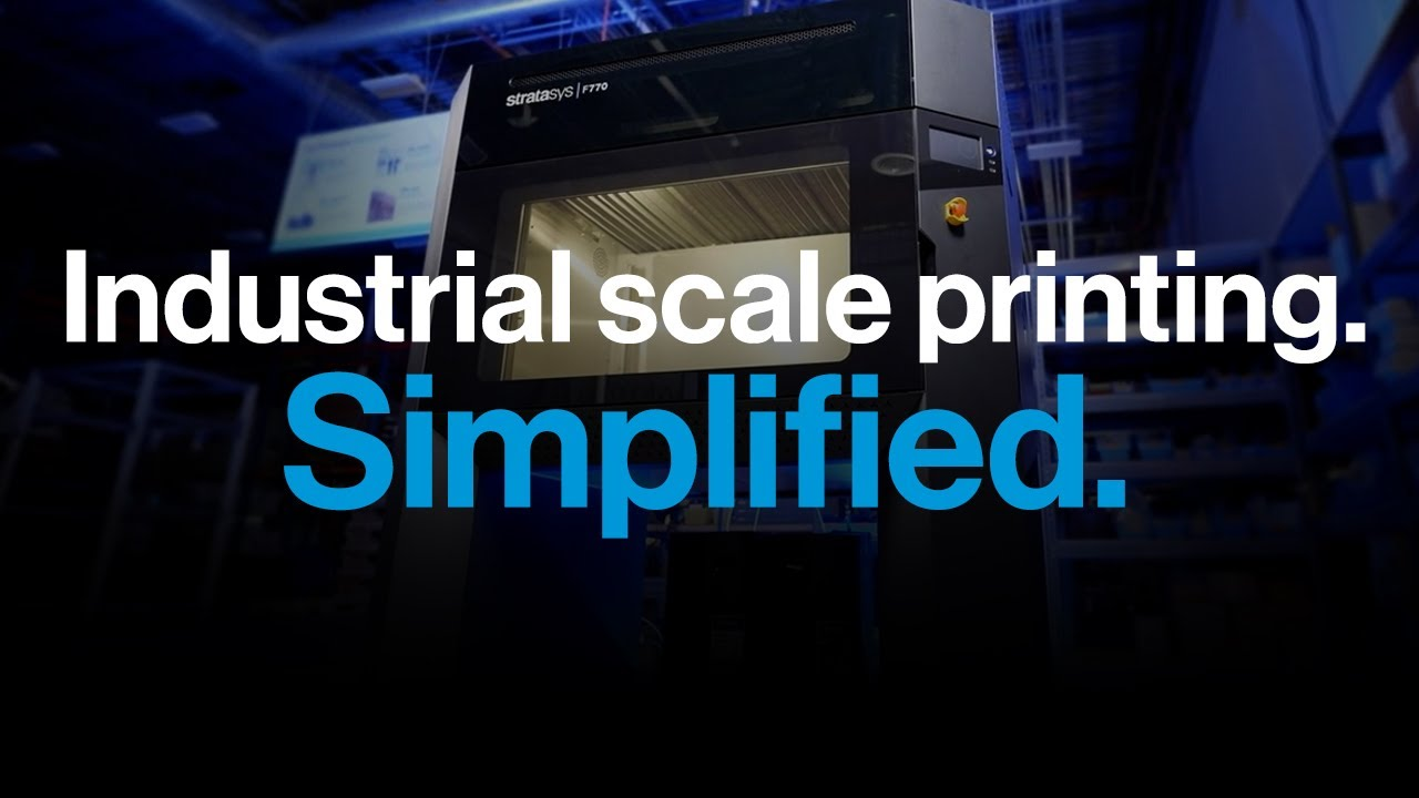 Accessible Large-Format FDM Printing with Stratasys F770