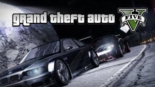 GTA V: Need For Speed Carbon - Cross & BMW M3 GTR Intro