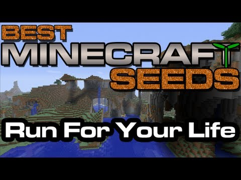 Best Minecraft Seeds - Run For Your Life [Xbox 360 Edition]