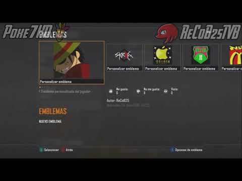Truco Black Ops 2 Multijugador Tutorial Como Copiar los Emblemas - By ReCoB