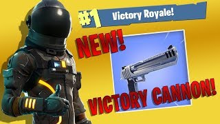 FORTNITE - VICTORY WITH THE NEW HAND CANNON!!