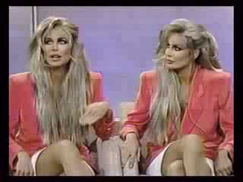 Barbi Twins on Geraldo 1992 Video