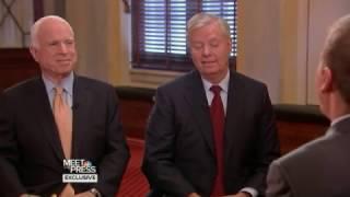 John McCain and Lindsey Graham: Obama is Black
