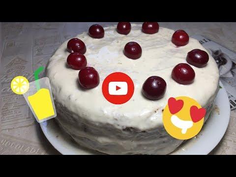 Торт за 109 рублей Творожно Банановый