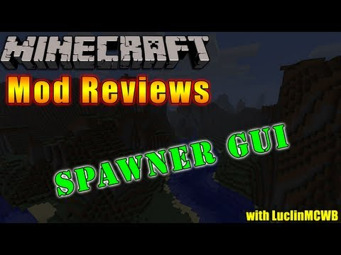 Minecraft Mod Reviews - Spawner GUI by Risugami