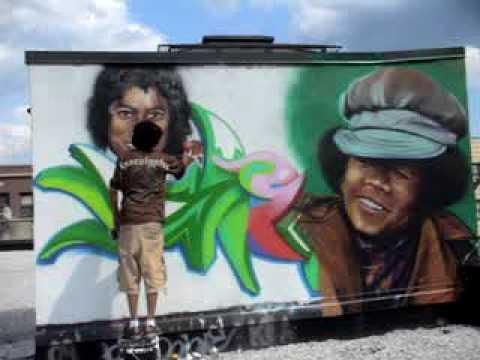 Michael Jackson Mural By Sien