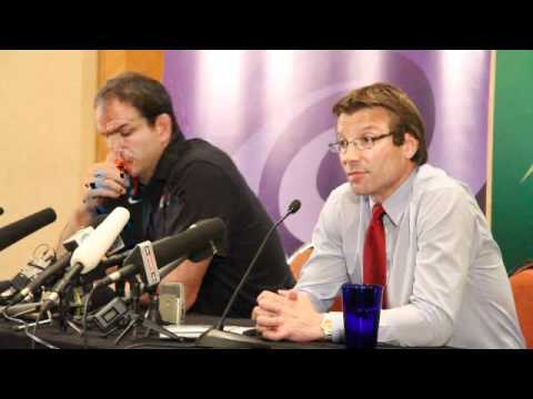 Martin Johnson & Rob Andrew discuss  England's RWC Exit