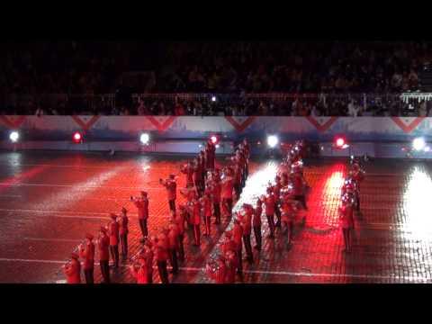 Центральный оркестр Швейцарской армии. Спасская башня 2013. / Swiss Army Central Band