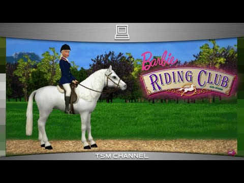 Barbie Riding Club (part 1) (Horse Game)