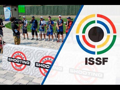Finals Skeet Men - 2015 ISSF Rifle, Pistol, Shotgun World Cup in Gabala (AZE)