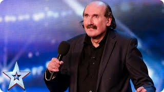 Could winning be in the air for singer Paul Netterfield?   Britain's Got Talent 2015