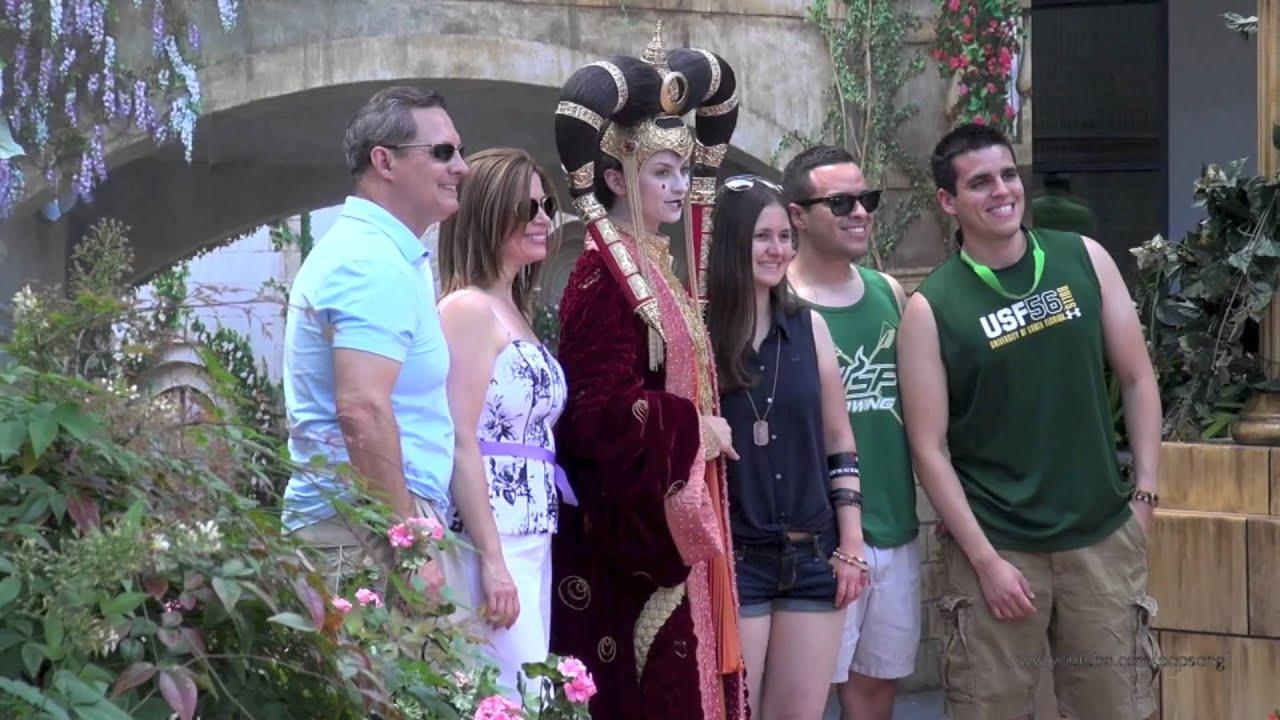 queen amidala meet and greet star wars weekends disney s