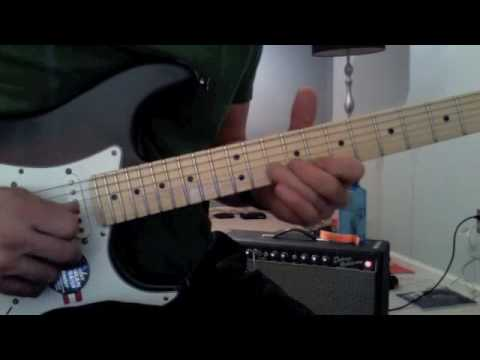 Guitar Lesson-5 Awesome Blues Licks-1 For Each Pentatonic Pattern