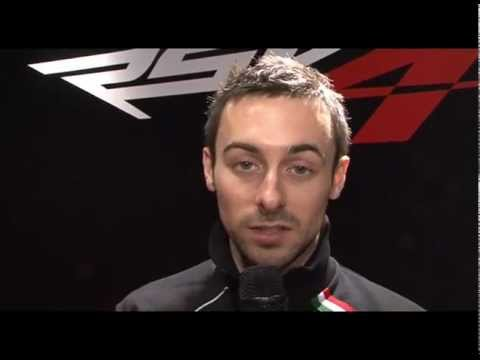 2012 Aprilia Racing Team — Eugene Laverty Interview