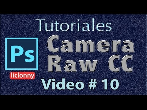 Tutorial Camera Raw CC # 10 Internet, Cambio Formatos,Objeto Inteligente,Indestructible,Photoshop