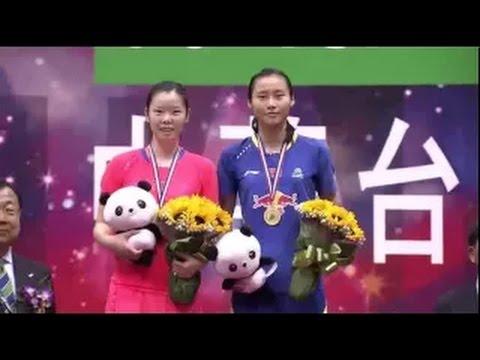 Badminton Highlights 2015 | Chinese Taipei Open 2015 FINALS | WANG Yihan vs LI Xuerui (Ceremony)