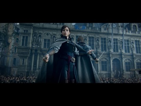 Assassin's Creed Unity《刺客教條:大革命》Arno Master Assassin 刺客大師「亞諾」CG Trailer - Ubisoft SEA