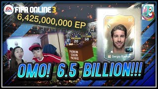 ~Sergio Ramos +5!!!~ Premium Season Upgraded Package Opening - FIFA ONLINE 3