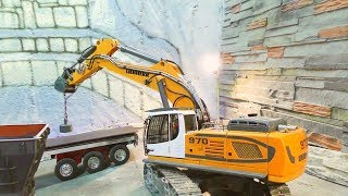 Liebherr 970 Excavator! Special Magnet for RC Diggers! Strong RC Machinery! volvo