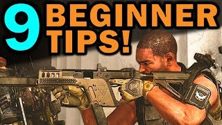 9 HUGE Beginner Tips! - The Division 2
