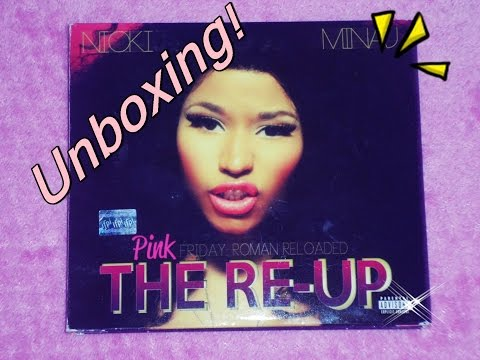Unboxing! - Nicki Minaj - Pink Friday: Roman Reloaded (The Re Up)