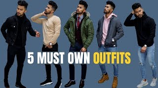 Top 5 Outfits Every Man Must Own (fall/winter)