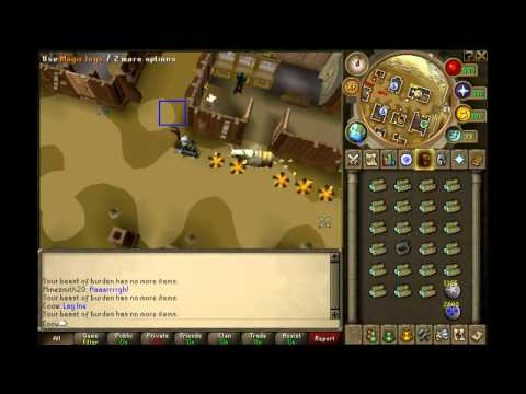 Runescape | Firemaking Guide with Beast of Burden | Coow