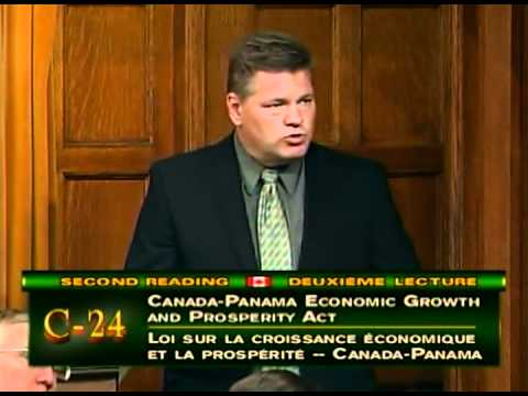Randy Hoback MP Speaks in Favour of the Canada-Panama Economic Growth & Prosperity Act