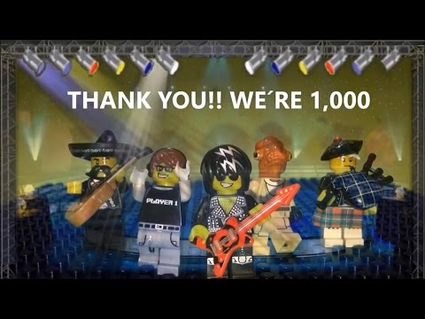 THANK YOU 1,000 SUBSCRIBERS SPECIAL + Stop Motion Amazing Figures and Bricks