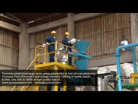 Plastic & Tire Pyrolysis Plants by Pyrocrat Systems LLP