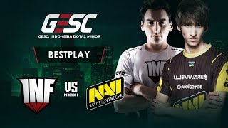 Navi vs Infamous - Exciting Game! - CESC Indonesia Minor - Dota 2  Highlights