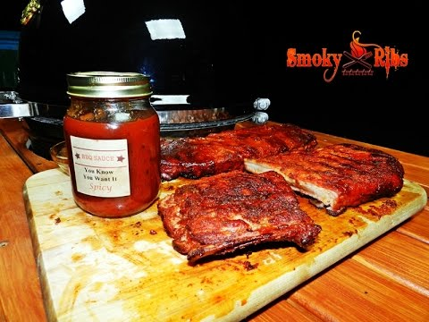 Texas Style BBQ Pork Spare Ribs ~ On the Grill Dome