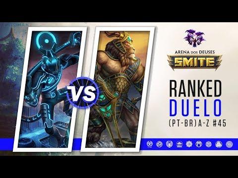 Hun Batz vs Anhur | Ranked Duelo A-Z #45 | Smite Season 5 (PT-BR)