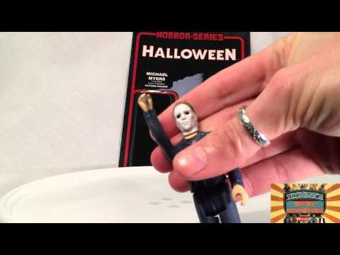 MICHAEL MYERS 3 3/4 Inch Action Figure by REACTION I Tikifire Toy Reviews