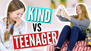 KIND VS TEENAGER // FRÜHER VS HEUTE | Julia Beautx