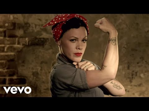 P!nk - Raise Your Glass video