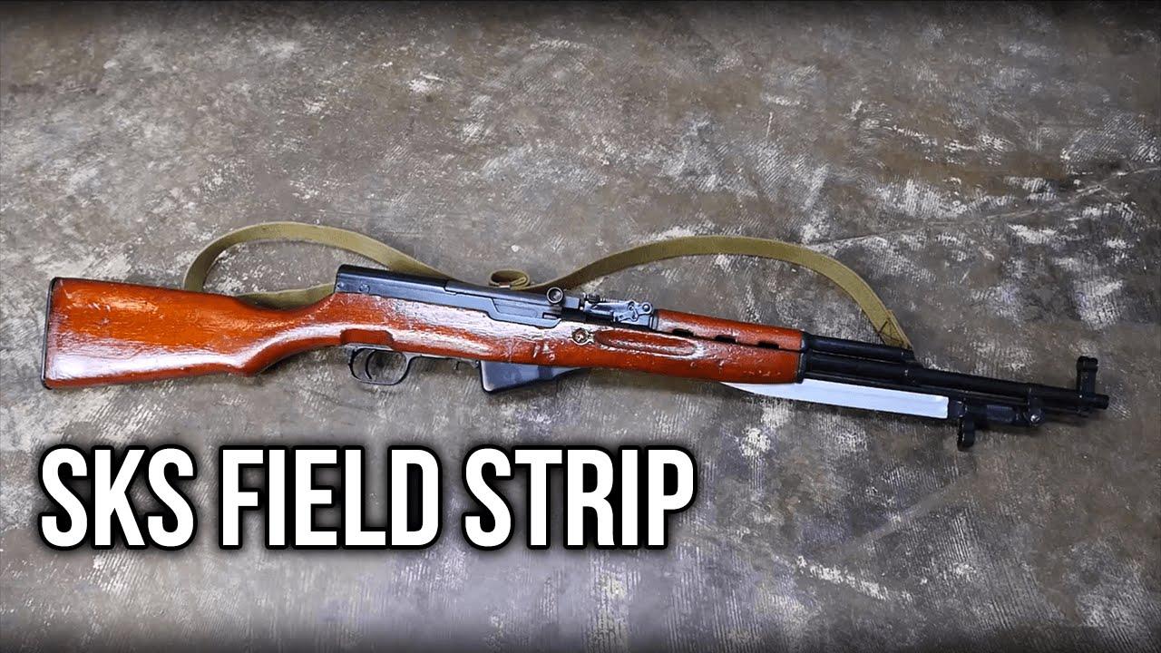 SKS Rifle Field Strip | Running Cave
